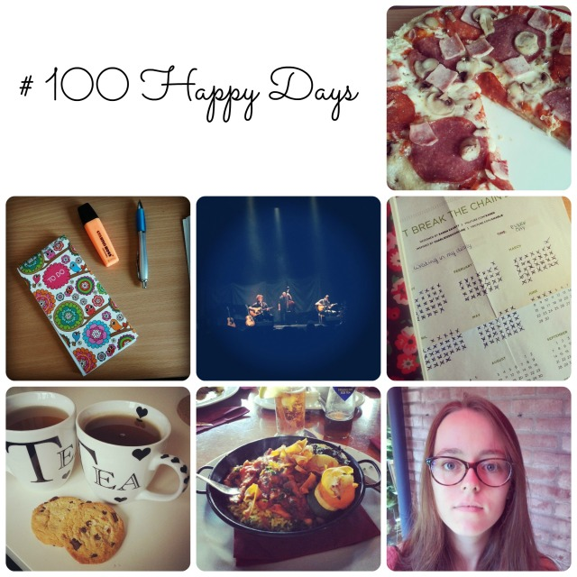 100 happy days week 4