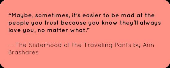 The Sisterhood of the Traveling Pants Trivia