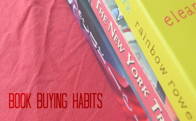 book buying habits