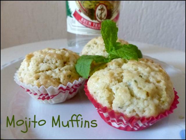 mojito muffins