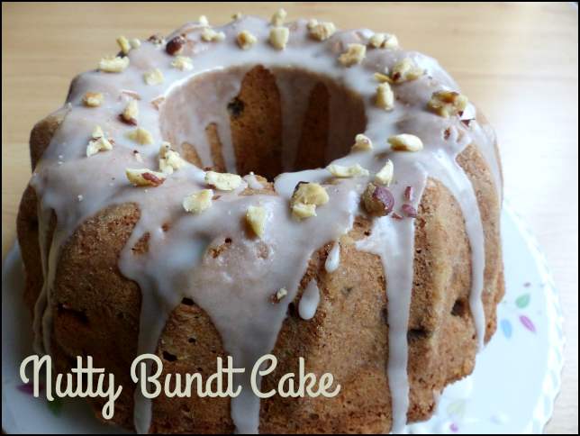 nutty bundt cake