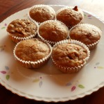 Banana Muffins with Raisins