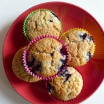 Blueberry and Lime Muffins