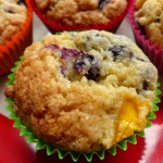 Blueberry and Mango Muffins