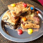 Oreo M&M Cookie Bars