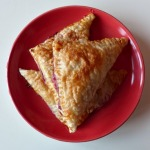 Pear and Raspberry Turnovers