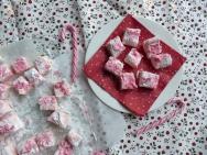 Candy Cane Marshmallows