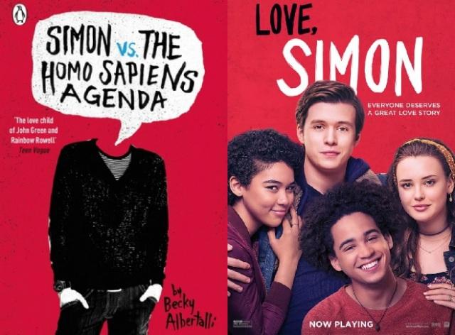 love simon vs the book