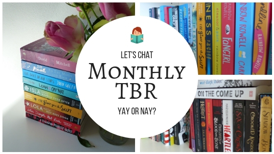 Monthly TBR - yay or nay_