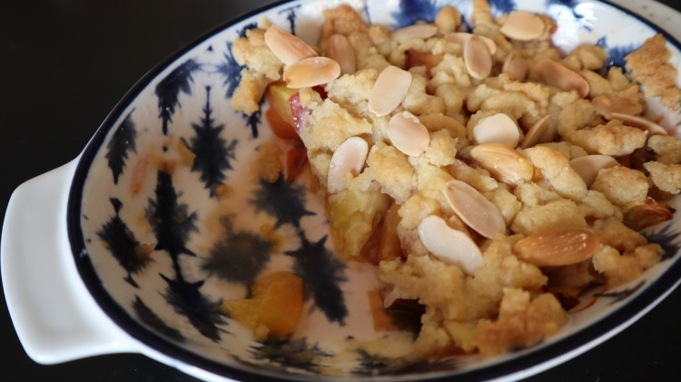 peach crumble 1