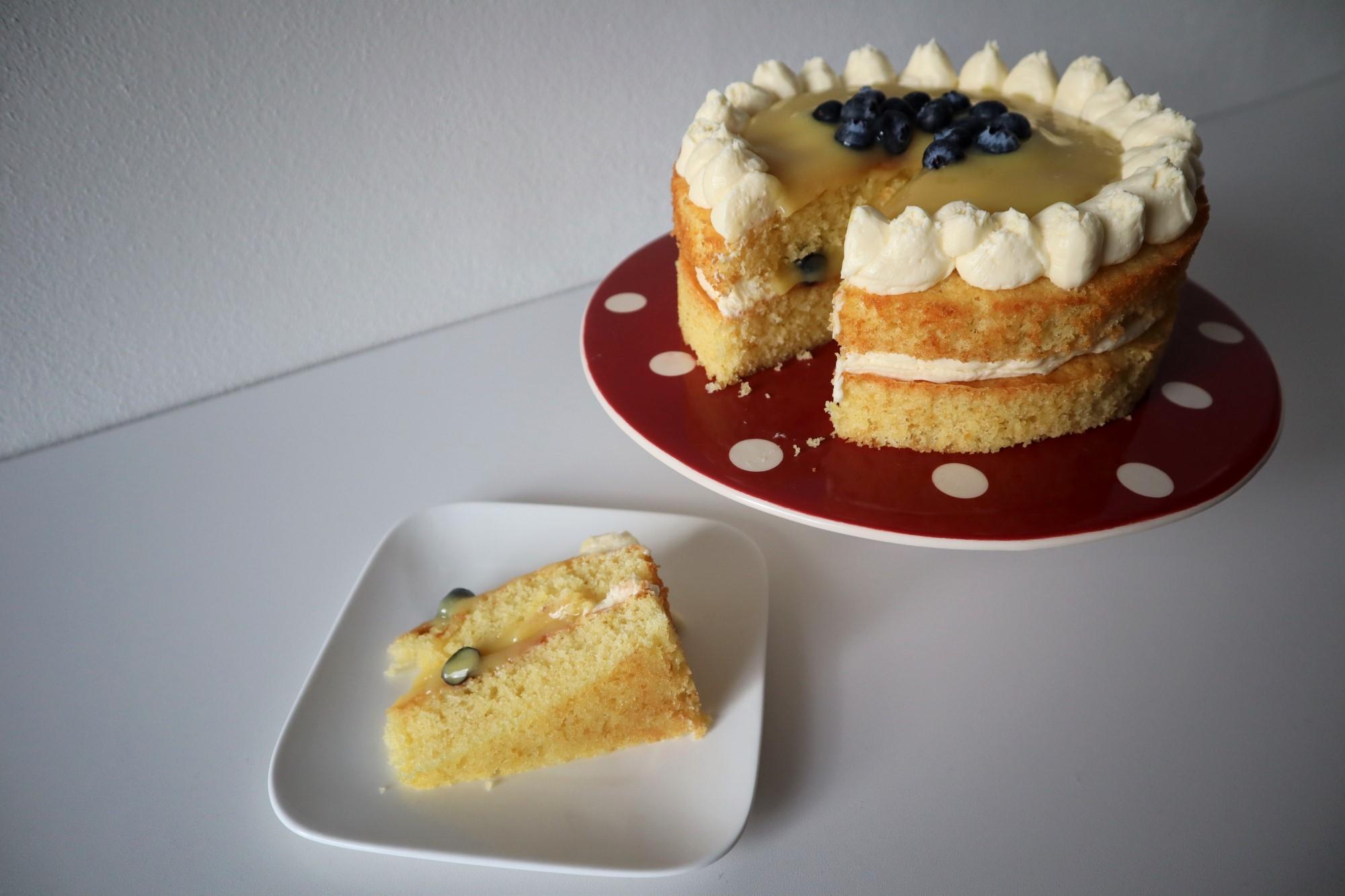 lemon curd cake 2