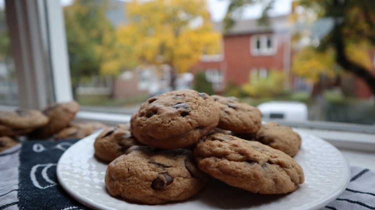 spiced chocolate chip cookies 1