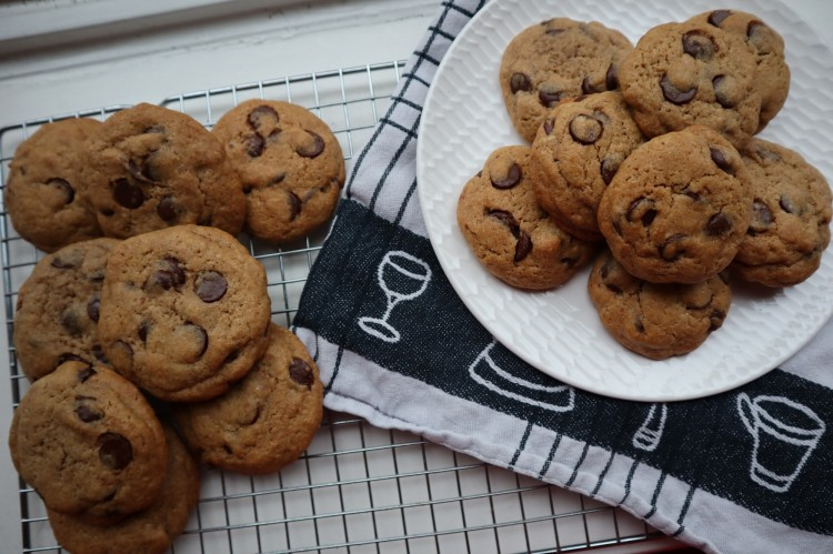 spiced chocolate chip cookies 2