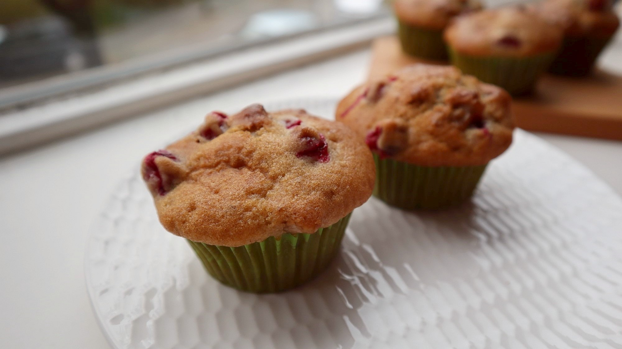 cranberry walnut muffin 1