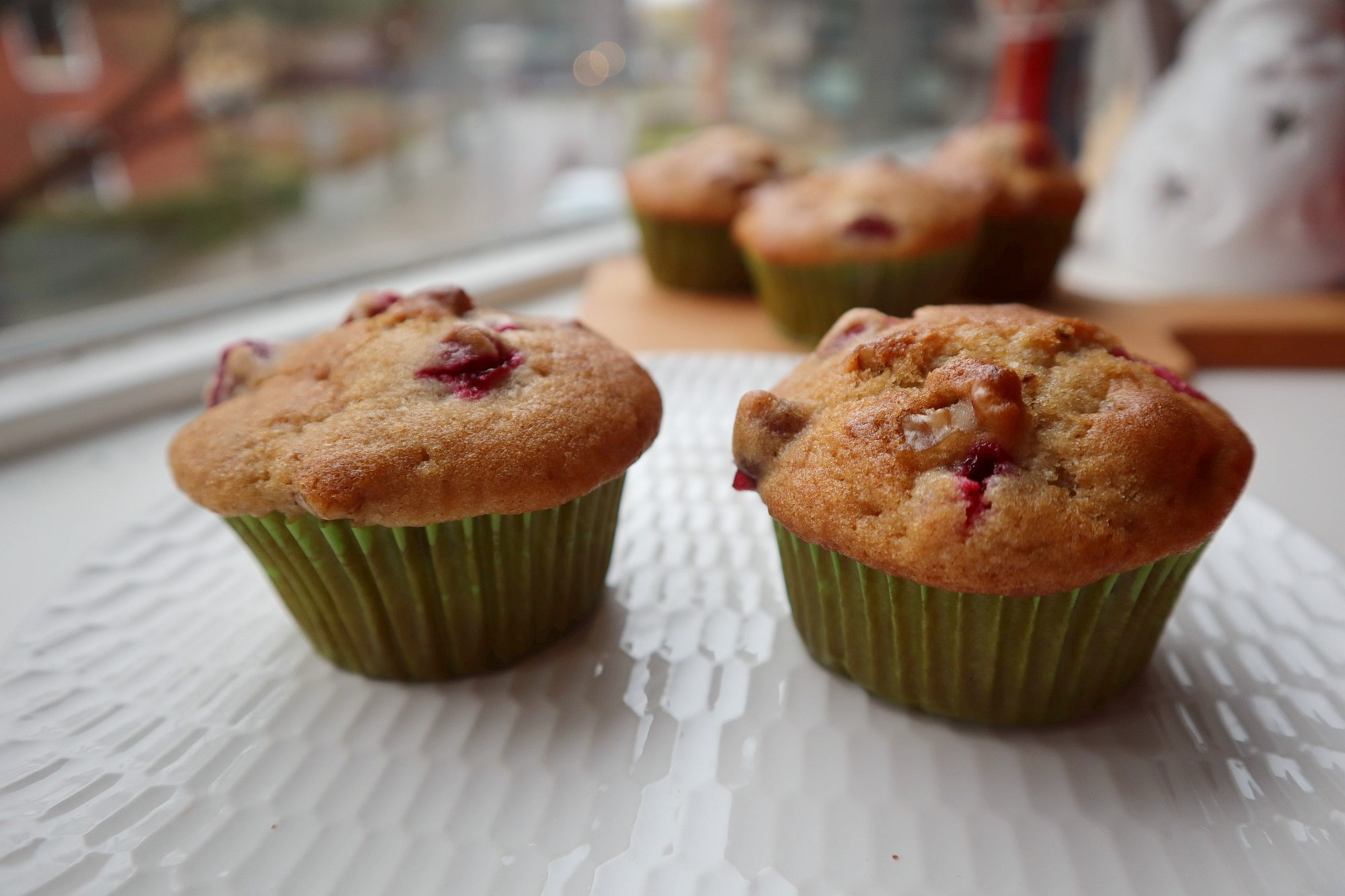 cranberry walnut muffin 3