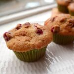 cranberry and walnut muffins