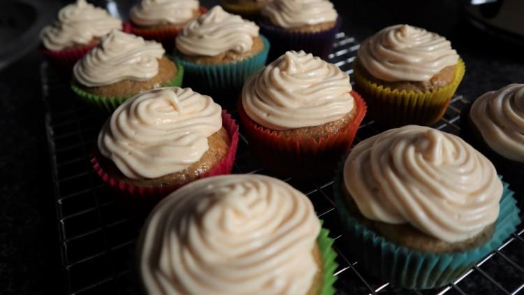 banana cupcakes 4