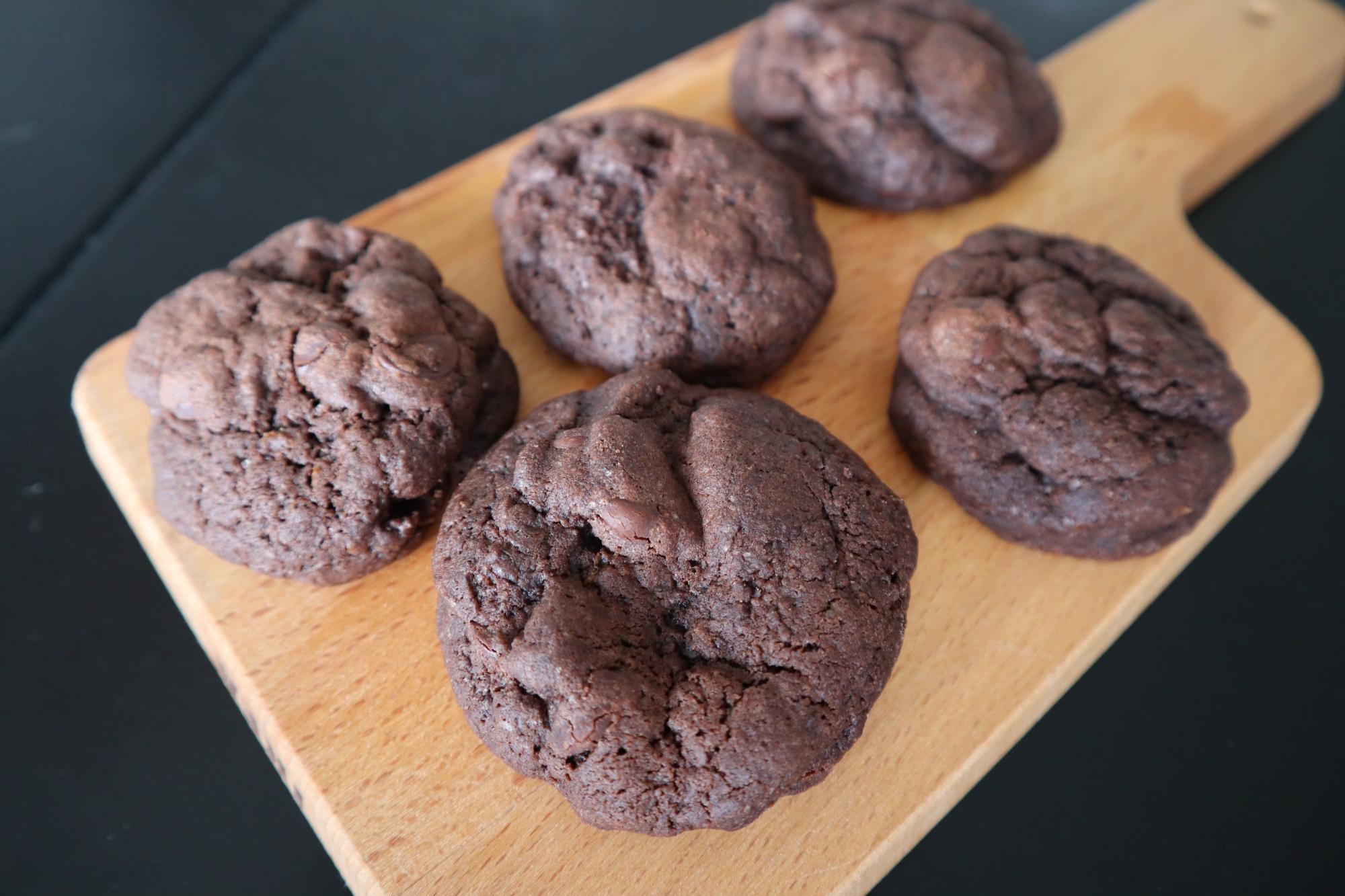 chocolate orange cookies 2